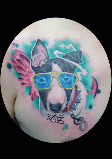 tattoo DOG-HECTOR