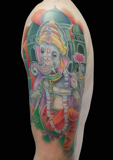 tattoo GANESHA
