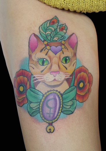 tattoo GATITA