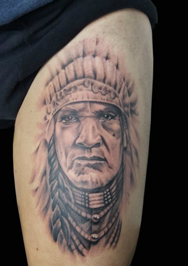 tattoo INDIAN