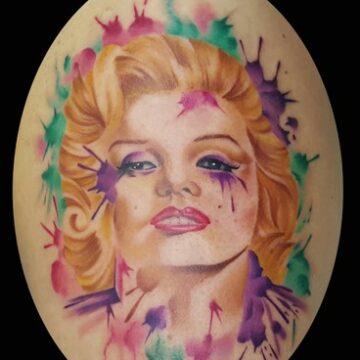 tattoo MARILYN