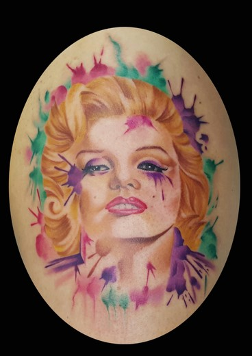 tattoo MARILYN