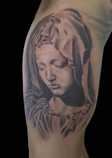 tattoo PIETA