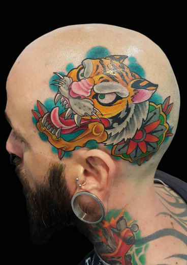 tattoo TIGRE-HEAD